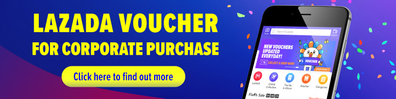 Lazada Voucher For Corporate Purchase