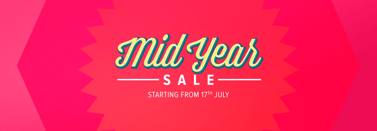 Mid Year Sale - Coming Soon