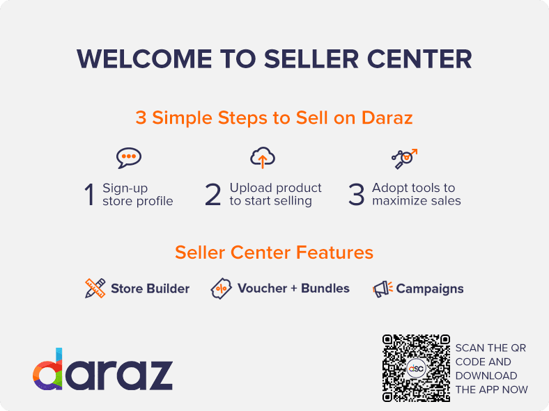 Daraz Seller Center